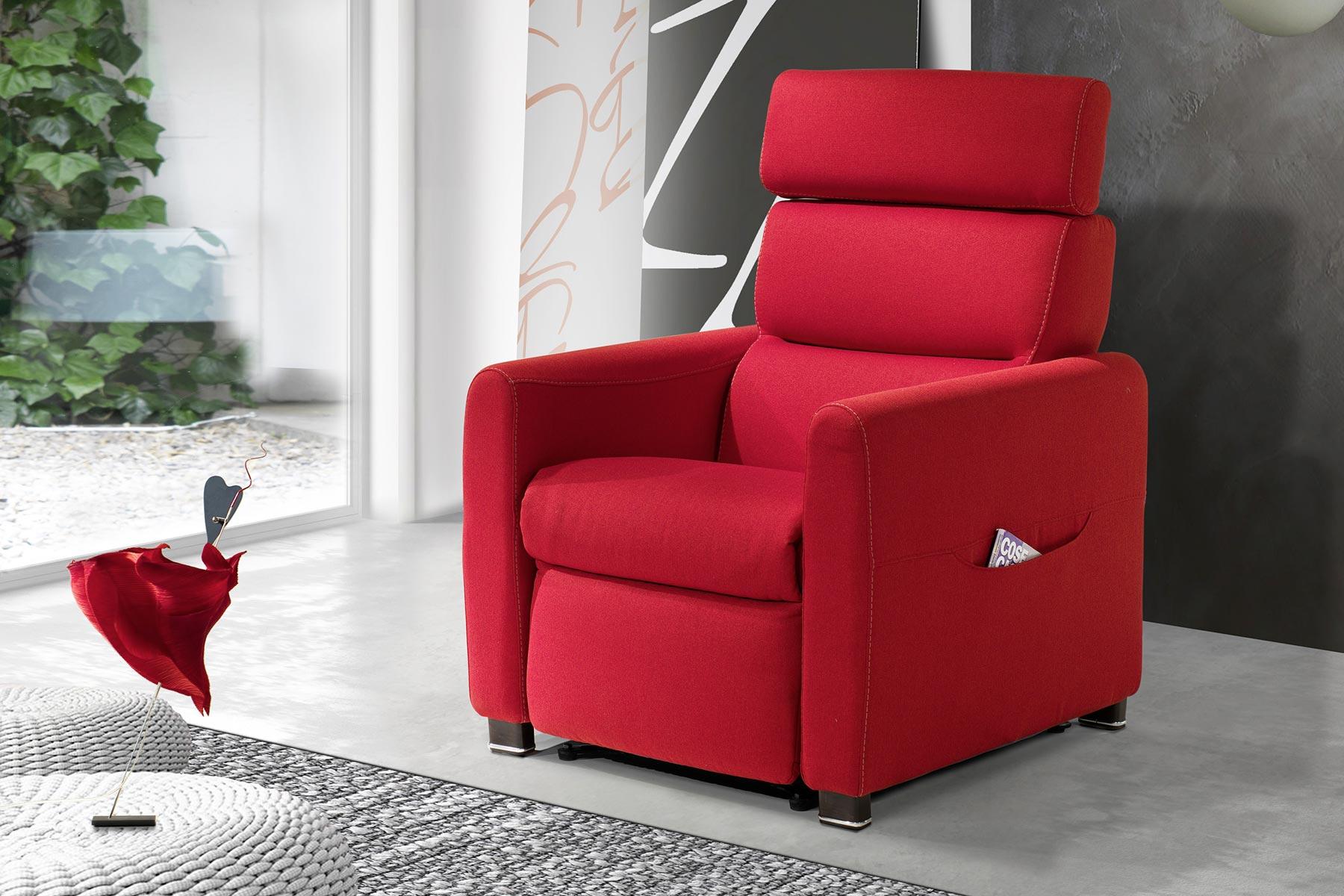Poltrona Relax Modello Mia.Poltrone Relax Natural Home Interior Design