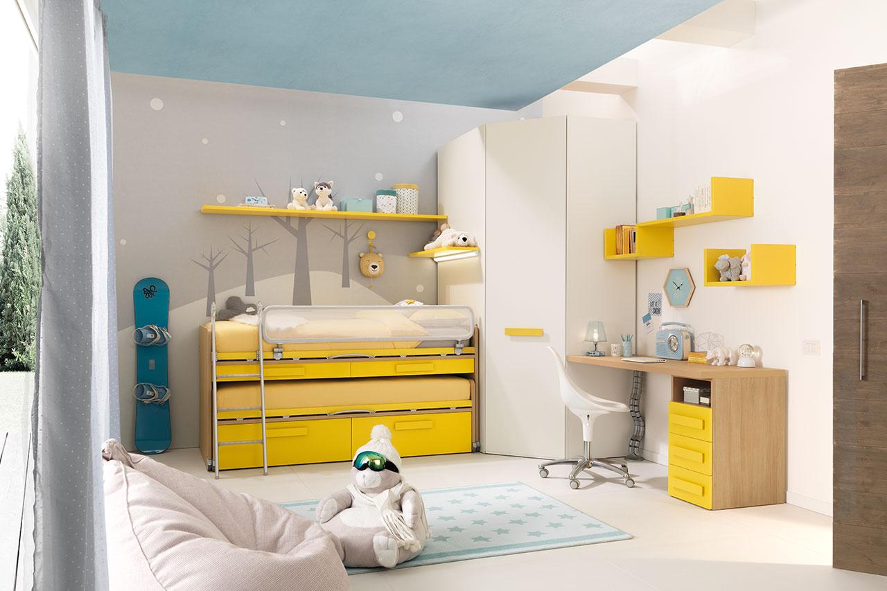 Moretti Compact Camerette per Bambini e Ragazzi 01 - Natural Home Zoppola
