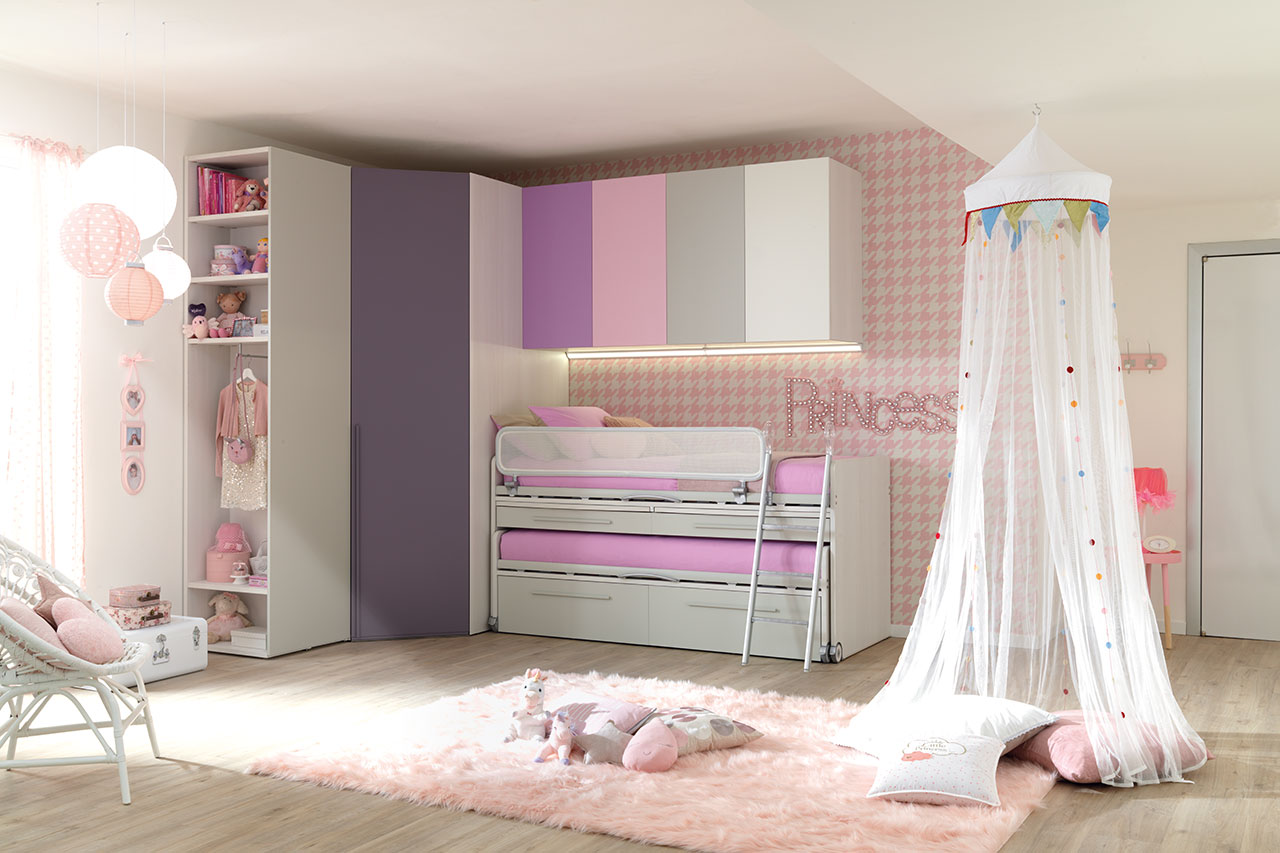 Moretti Compact Camerette per Bambini e Ragazzi 05 - Natural Home Zoppola